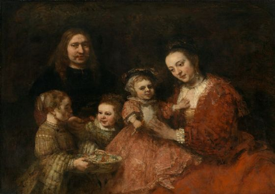 Rembrandt: Portrait of a Family. Fine Art Print/Poster. Sizes: A4/A3/A2/A1 (004300)